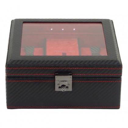 Шкатулка для хранения часов с подсветкой 32058-2