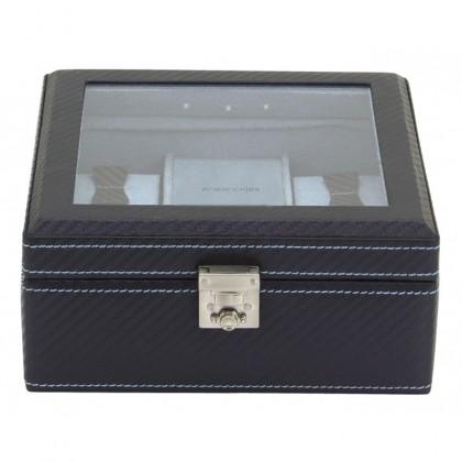 Шкатулка для хранения часов с подсветкой 32058-5